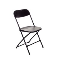 Folding Chair Hire - Black