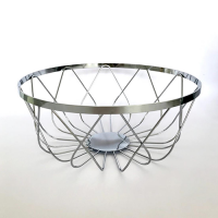 Bread Basket - Chrome Plated