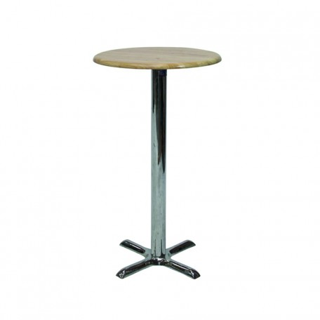 Cocktail Table Hire - Wood Top