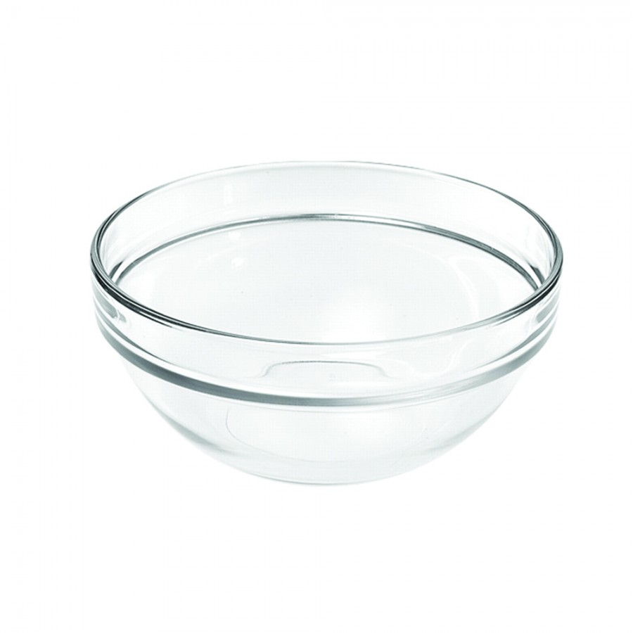 Glass Salad Bowl Hire - 26cm