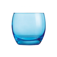 Salto Whiskey Glass - Blue