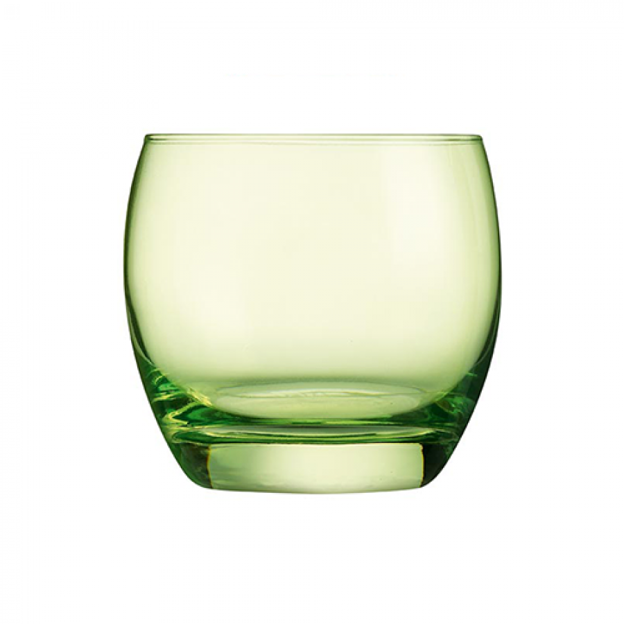 Salto Whiskey Glass - Green
