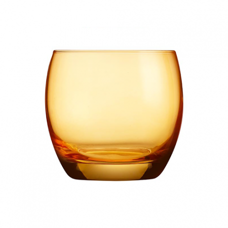Salto Whiskey Glass - Orange