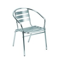 Bistro Chair Hire - Stainless Steel