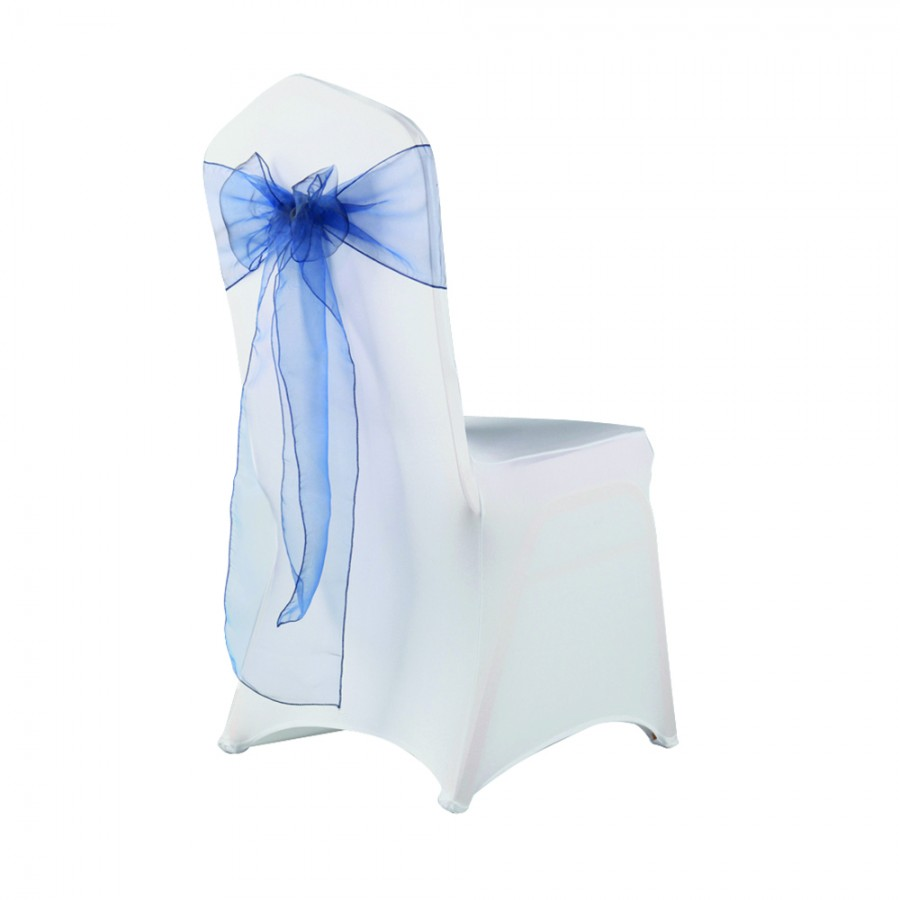 Stretch Chair Cover Hire - White