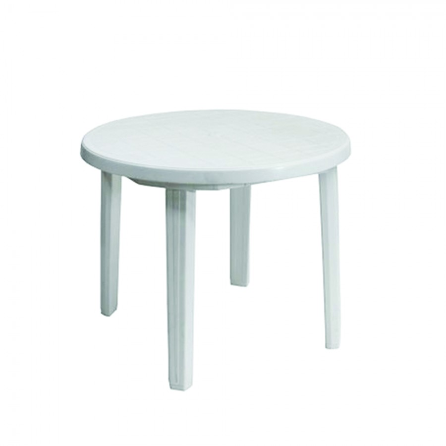 Bistro Table - White plastic
