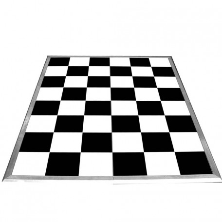 Black and White Dance Floor