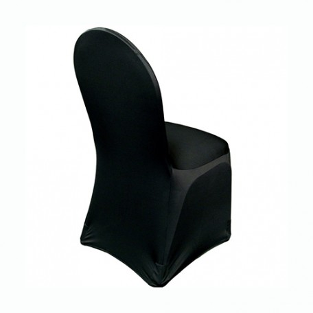 Black Stretch Chair Cover Hire