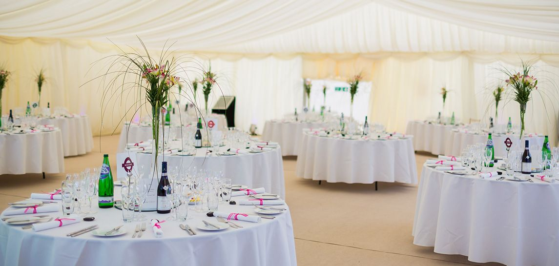 Wedding clearspan marquees