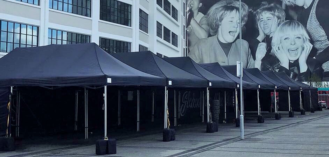 Black Marquees at the Vinyl Factory 2