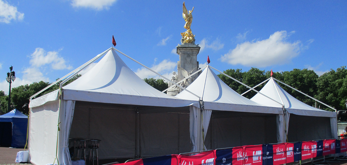 Sporting event marquees