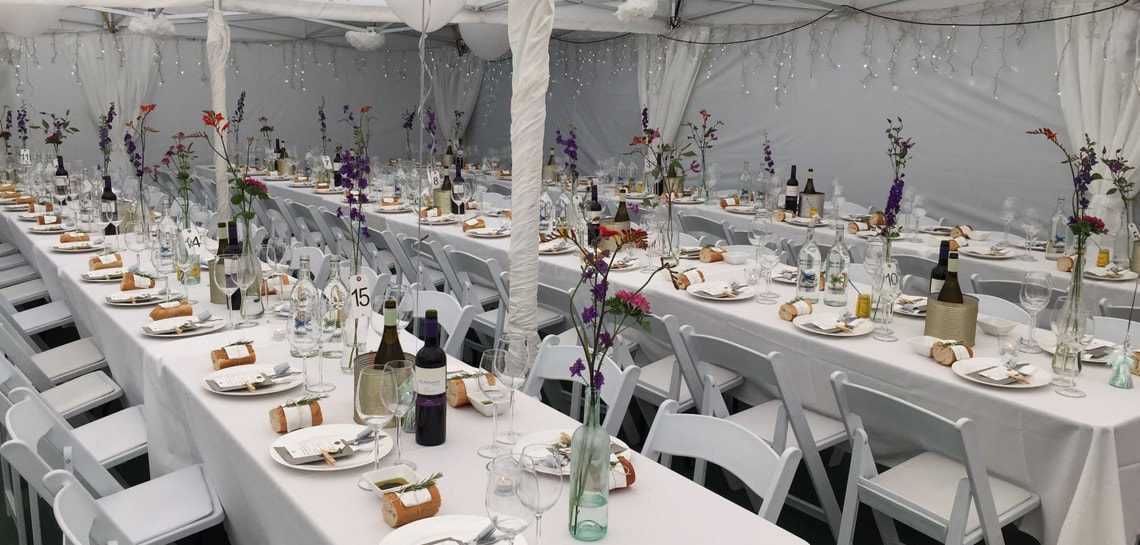 Hire Marquees for Wedding Parties in London