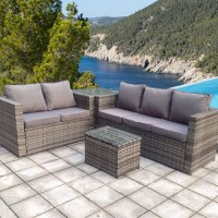 Rattan Full Sofa Set