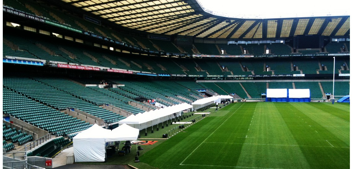 Casablanca Marquees at The Twickenham Stadium