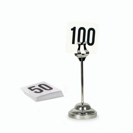Table Menu Numbers