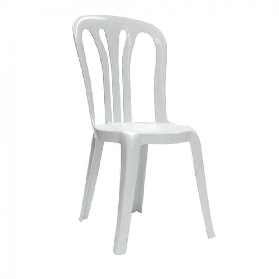 Bistro Chair Hire - White