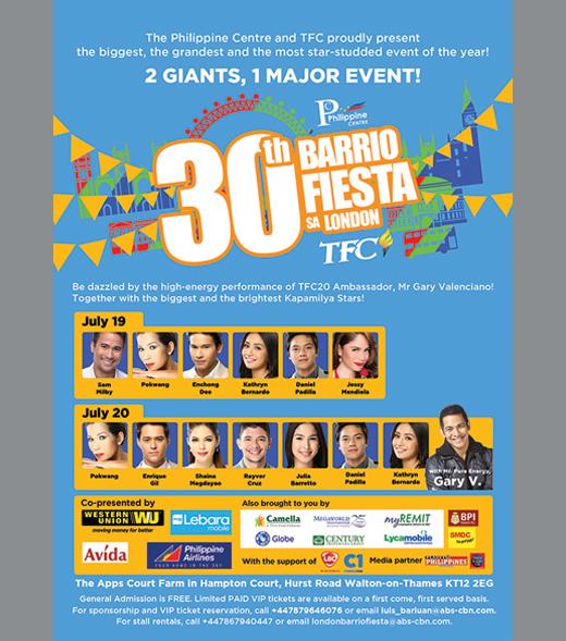 Blog - Filipino Festival - Bario Fiesta sa London