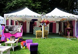 Furniture hire for house festival Soho